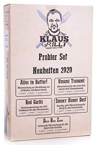 Klaus grillt - Probier Set Neuheiten 2020 (500 g)