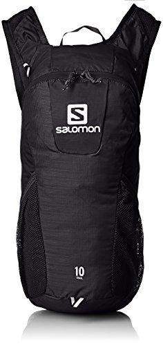 Salomon L37997600, Zaino da Corsa Running 10 l Trail 10 Unisex – Adulto, Nero