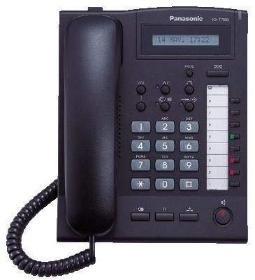Panasonic Digital Key Instrument Telephone, Black