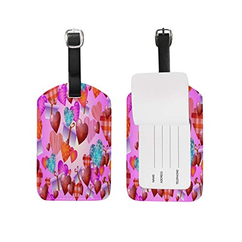 Colorful Cat Kitten Luggage Tags Travel Bag Tag Suitcase 1 Piece