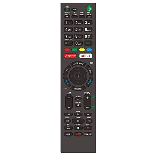 Universal Remote Control for Sony Bravia Smart TV-Compatible All for Sony OLED 4K Ultra HD Smart TV Remote of Models RMT-TX100U RMF-TX300U