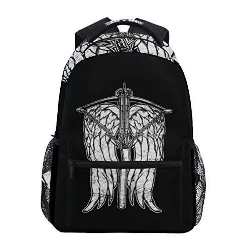 Backpack Armbrust College Travel Bookbag Rucksack Stylish Lightweight Casual Durable Shoulder Bag Einzigartiges Gedrucktes Student School Geschenk