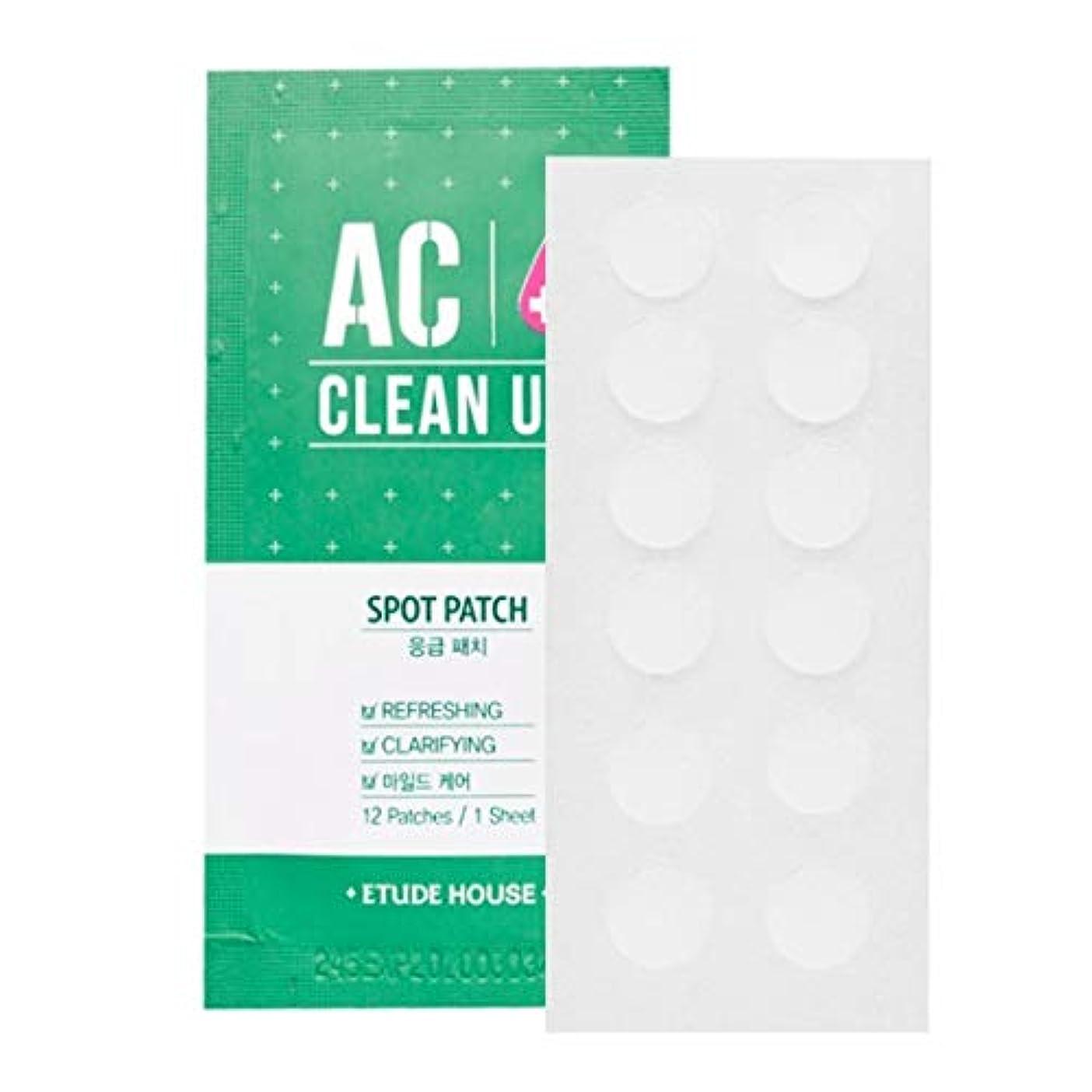 オープナーまろやかな寝室を掃除するETUDE HOUSE AC Cleanup Patch 10pcs / エチュードハウスACパッチ10枚/ にきびパッチ [並行輸入品]
