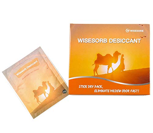 Purchase Wisesorb Moisture Absorber, Stickable Dehumidifier Packet with Adhesive Back Patented Desic...