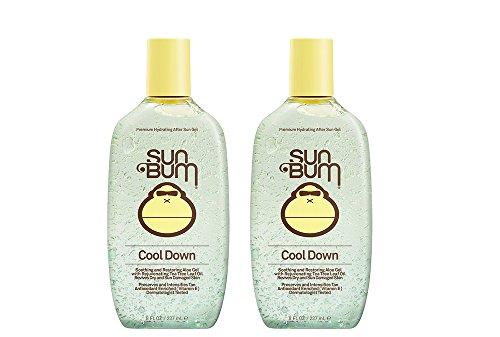 Sun Bum Cool Down pwvLv Hydrating After Sun, 8 oz - After Sun Gel (2 Pack)