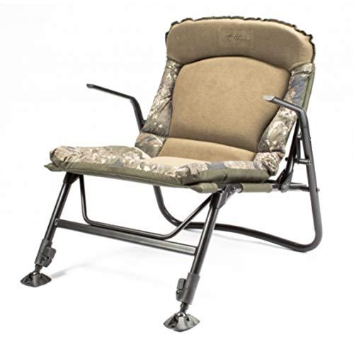 Nash Indulgence Sub-Lo Carp Fishing Chair Fleece Covered Padded