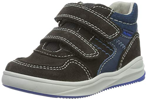 Richter Kinderschuhe Jungen Harry Hohe Sneaker, Grau (Steel/Pacific/Ink 6502), 23 EU