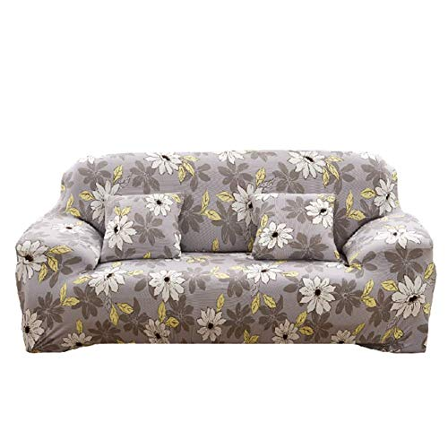 leere Ecksofaüberwurf, Kombi/L-Form/1/2/3/4 Sofabezug Sofabezug Sofabezug Slip Elastomer All-Inclusive Flower Print, 235x300cm