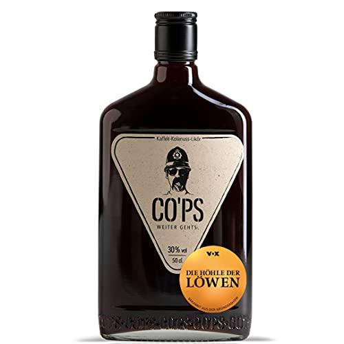 CO'PS - Der Kaffee- Kolanuss- Likör | HÖHLE DER LÖWEN | Enthält natürliches Koffein | aus 100% natürlichen Zutaten | 1x0,5 l