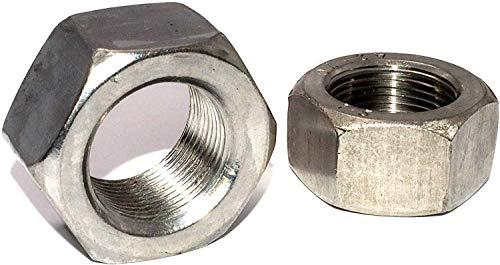 Sechskantmuttern M24x1,5 Feingewinde DIN 934 Stückzahl 1 Edelstahl A2 Form B Festigkeit 70 Schraubenmutter Gewindemuffen Gewindemuttern