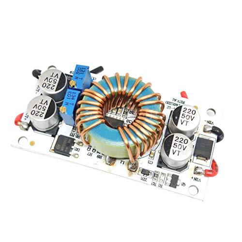 Guangcailun Einstellbare 250W High-Power-Boost-Converter Step-up-Modul Mobile Stromversorgung LED-Treibermodul Max 10A DC-DC 8,5~48V bis 10~50V