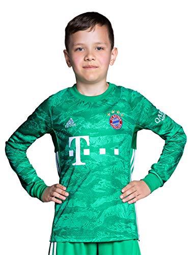 FC Bayern München Kinder Torwart Trikot 2019/20, ohne Spielerflock, Größe 176