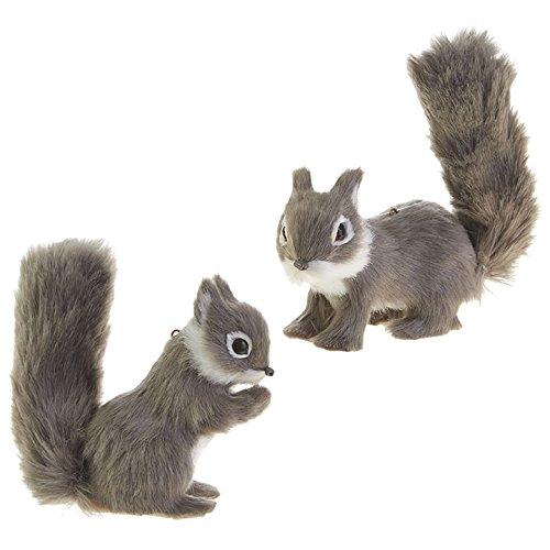 RAZ Imports 4' Fuzzy Squirrel