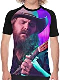 Photo de Chris Stapleton Fashion Men's Short Sleeve T Shirt Crew Neck Baseball Tee,XX-Large par