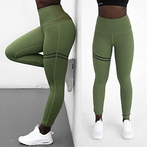 No Brand Leggings Fitness Sport vrouwen Fitness Push Up 2019 hoge taille vrouwelijk gym sport broek yoga vrouwen zwart