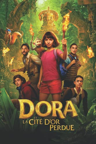 Dora and The Lost City of Gold And Dora Et La Cite D'or Perdue Notebook: - 6 x 9 inches with 110 pages
