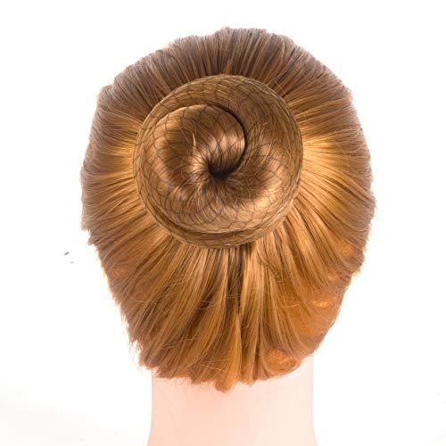 DILISEN 20 Pcs Invisible Hair Nets Edge Mesh pour Women Bun, (Black, Coffee) (blackcoffee)