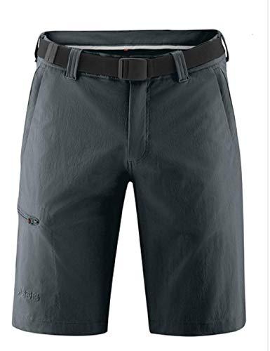 Maier Sports Bermuda pour Homme avec Ceinture bi-élastique à séchage Rapide et imperméable Gris graphite/949