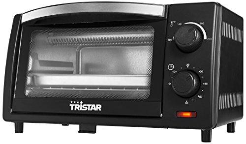 Tristar OV-1430 Backöfen und Herde/Mini-Ofen 9 L/EinstellbareTemperatur100230 Grad C/AuchzumCampengeeignet/schwarz