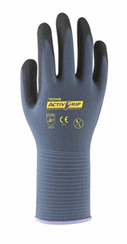 Towa TOW581 ActivGrip Advance Handschuh, 8/M, violett, 1