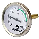 Angel-Berger Profi Räucherthermometer Thermometer für Räucherofen