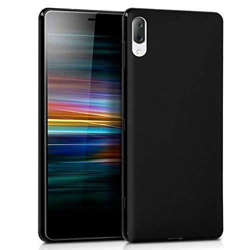 Mb Accesorios Funda Carcasa Gel Negra para Sony Xperia L3, Ultra Fina...