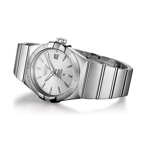 ROCOS Reloj Automático de Acero Inoxidable Relojes de Moda para Hombr