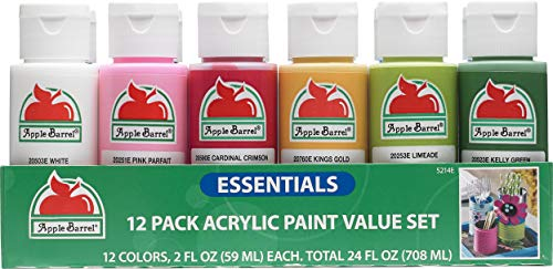 Apple Barrel 12 Essential Colors Matte Finish...