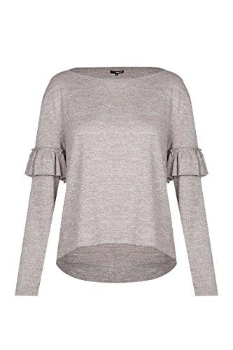 Tally Weijl Damen SPUXXCONNY Langarmshirt, Beige (Indian Tan Zf), Medium