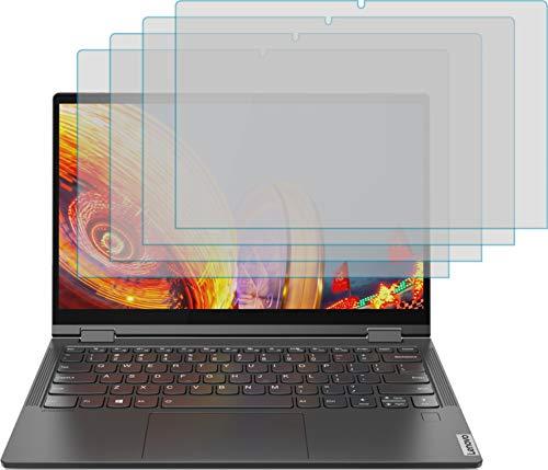 4ProTec I 4X Schutzfolie KLAR passexakt für Lenovo Yoga C640 - Displayschutzfolie Schutzhülle