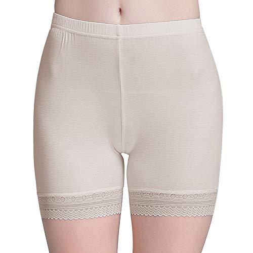 Vinconie Women Sexy Stretch Pants Shorts for Skirt Short Leggings Plus Size
