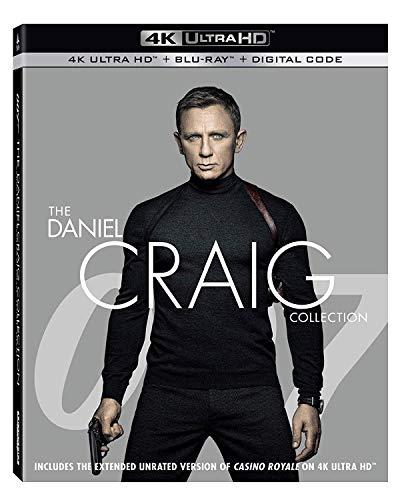 007/ダニエル・クレイグ 4K UHD コレクション [4K UHD+Blu-ray ※4K UHDのみ日本語有り](輸入版) -007 The Daniel Craig Collection 4k Ultra Hd-