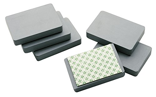 Legamaster 7-184000 Blockmagnet, zur Montage von Boards an Metallwänden, selbstklebend, 1 Stück