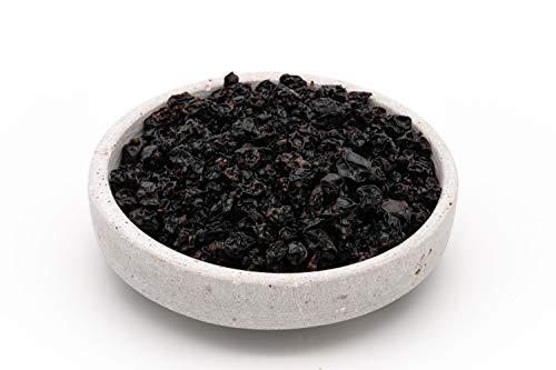 Getrocknete, schwarze Bio Fairtrade Johannisbeeren – 1kg – Sonnengetrocknet, ungesüßt und ungeölt – Rohkost – Aus Usbekistan