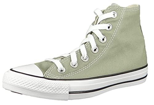 Converse Zapatillas altas Chuck Taylor All Star HI 171263C para mujer, color gris, Light Field Surplus,...