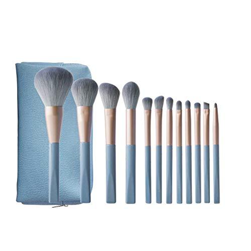 GCX- Dumbo Maquillage de Haute Valeur Brosse Cheveux Doux 12 Ensembles Portable Envoyer Sac de Maquillage Brosse Beau