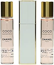Chanel Coco Mademoiselle Twist & Spray Eau De Parfum - Coco Mademoiselle - 3x20ml/0.7oz, 2.1 Oz