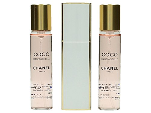 Chanel Coco Mademoiselle Edp Vapo Twist & Spray 3 X 20 Ml 1 Unidad 60 ml