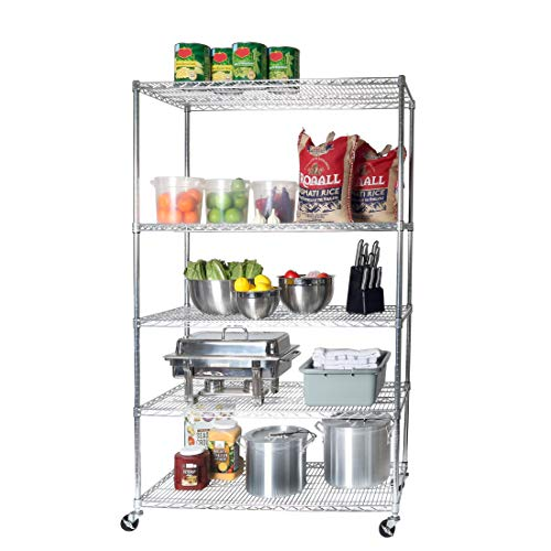 Our #6 Pick is the Seville Classics UltraDurable Garage Shelving