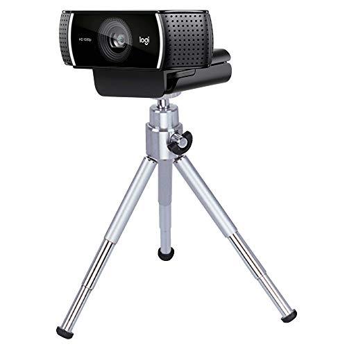 TronicXL Tripod 10W Stativ für Webcam kompatibel mit Logitech C920 Brio 4K C925e C922x C922 C930e C930 C615 Web-Kamera Spedal Ersatzteil Zubehör Homeoffice Zoom Video AUKEY Microsoft LifeCam Studio