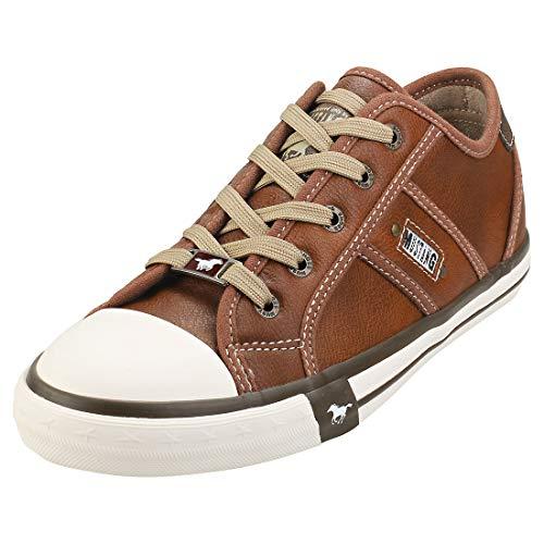 MUSTANG Damen 1209-301 Sneaker, Braun 307 Cognac
