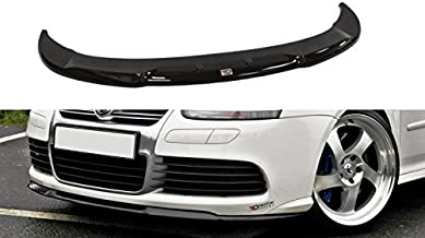 Maxton Design Front Splitter Cupra Look Compatible with VW Golf MK5 R32