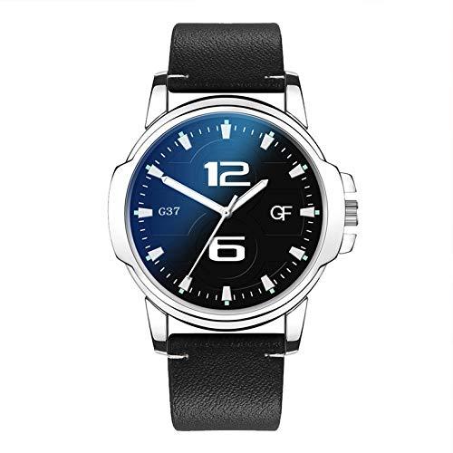 G37 Uomini Quadrante Rotondo Orologi Da Polso Mens Top Brand Business Moda Quarzo Orologio Da Uomo Migliore Regalo per gli Uomini