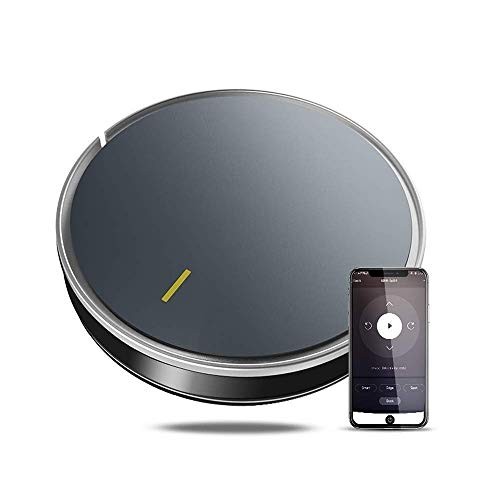 Buy Robotic Vacuums Robot Vacuum Cleaner with 1800Pa Strong Suction for Low-Pile Carpet, Hard Floor,...