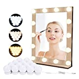 Luces de Espejo de Tocador LED Lámpara para Espejo de Maquillaje LED para Espejo Cosmético con...