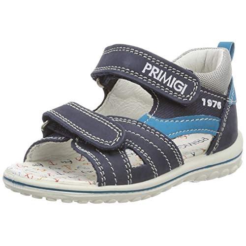 Primigi Psw 33777, Sandali a Punta Aperta Bimbo 0-24, Blu (Azzurro/Blu 3377711), 18 EU