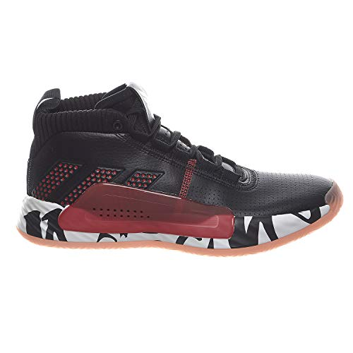 adidas Men's Dame 5 Basketball Shoes #G54048 (8 M) Black