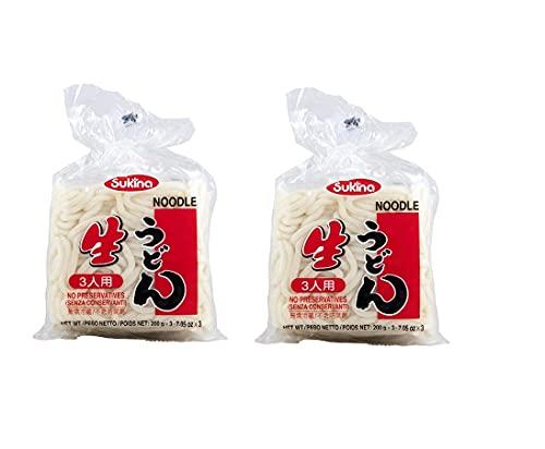 Sukina Udon - Noodles Giapponesi - 2 Confezioni da 600 gr