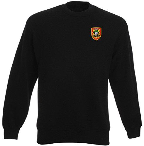 Military Online US Advisor Vietnam MACV-SOG Insignia - Embroidered Logo - Heavyweight Sweatshirt by