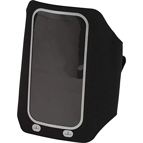 Pro Touch Unisex - riemtas volwassenen 288295 riemtas, zwart/zilver, één maat